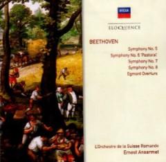 Ansermet, Ernest - Beethoven: Sym Nos 5-8/Egmont Overture