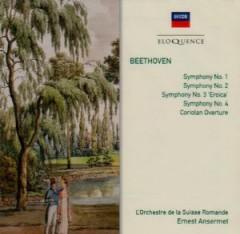 Ansermet, Ernest - Beethoven: Sym Nos 1-4/Coriolan Overture