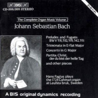 Bach, J.S. - Complete Organ Music Vol2