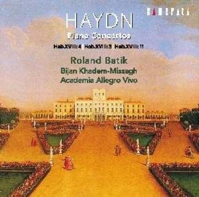 Haydn, J. - Piano Concerto Hob.Xviii: