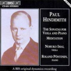 Hindemith, P. - Sonata For Viola & Piano