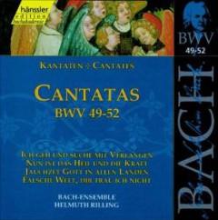 Bach, J.S. - Cantatas Bwv49 52