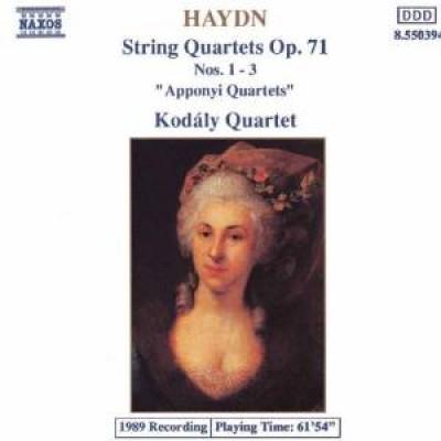 Haydn, J. - Streichquartette Op.71,1