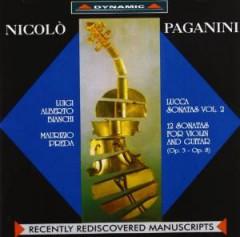 Paganini, N. - Lucca Sonaten Vol.2