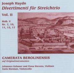 Haydn, J. - Divertimenti Fuer Streich