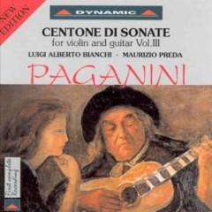 Paganini, N. - Centone Di Sonate 3