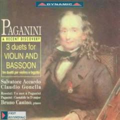 Paganini, N. - 3 Duette F.Violine U.Fago