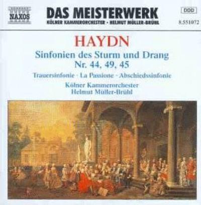 Haydn, J. - Symphonien Nr. 44+49+45