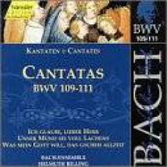 Bach, J.S. - Cantatas Bwv109 111