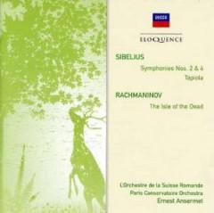 Ansermet, Ernest - Sibelius: Sym No 2&4/Rachmaninov: Isle Of