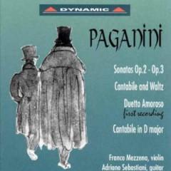Paganini, N. - Werke Fuer Violine & Gita