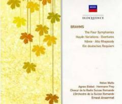 Ansermet, Ernest - Brahms: Sym No 1 -4/German Requiem (Box)