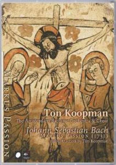 Bach, J.S. - St Mark Passion [Audio DVD]