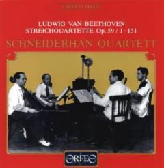 Beethoven, L. Van - String Quartet Op.59
