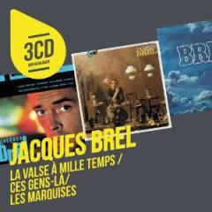 Brel, Jacques - 3 Cd Originaux