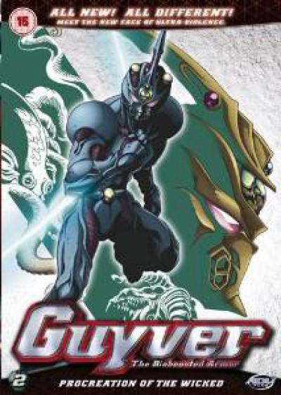 Animation - Guyver: Bioboosted..V.2