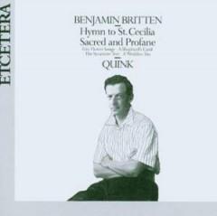 Britten, B. - A Cappella Choral Music