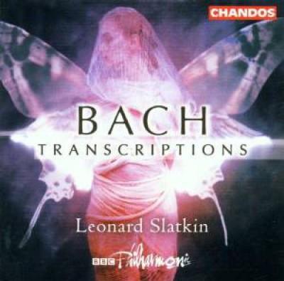 Bach, J.S. - Transcriptions By Slatkin