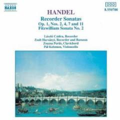 Handel, G.F. - Flutesonatas Op.1 Nos 2,4