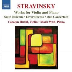 Stravinsky, I. - Works For Violin & Piano
