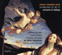 Bach, J.S. - Concerto In Dialogo/Canta