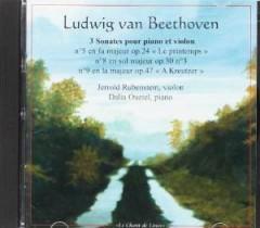 Beethoven, L. Van - 3 Sonates Pour Piano Et V