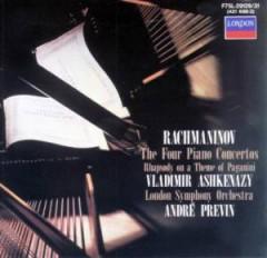 Ashkenazy, Vladimir - Shm Rachmaninov:..  Ltd