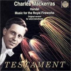Handel, G.F. - Music For The Royal Firew