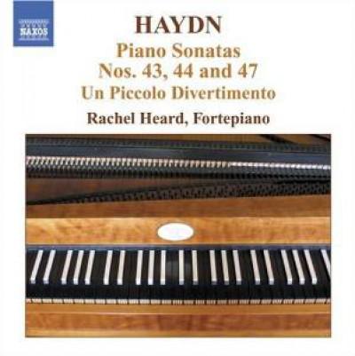 Haydn, J. - Klaviersonaten 43, 44+47