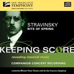 Stravinsky, I. - Keeping Score:Rite Of Spr