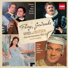 Verdi, G. - Flieg, Gedanke: Verdi Deu