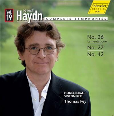 Haydn, J. - Complete Symphonies Vol.1