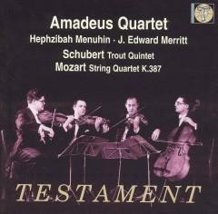 Amadeus Quartet - Trout Quintet/String Quar