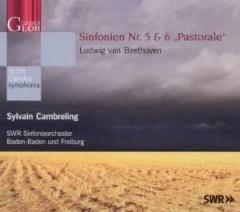 """Beethoven, L. Van - Sinfonien Nr. 5 & 6 """"Past"""
