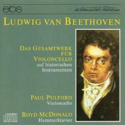 Beethoven, L. Van - Gesamtwerk Fuer Violoncel