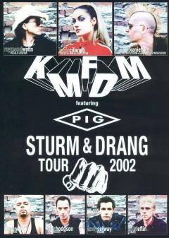 KMFDM - Sturm & Drang Tour