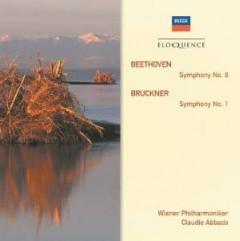 Abbado, Claudio - Beethoven: Sym No 8/Bruckner: Sym No 1