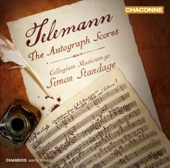Telemann, G. P. - Autographe Partituren Ouv