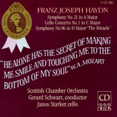 Haydn, J. - Symphonie 21 & 96/Celloko