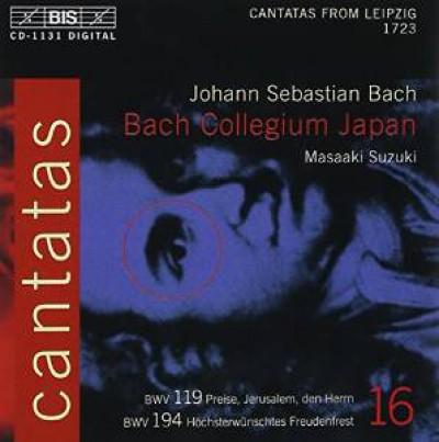 Bach, J.S. - Cantatas Vol.16