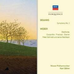 Karl Böhm - Brahms: Symphony No. 3; Weber: Overtures