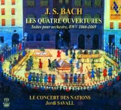 Bach, J.S. - Les Quatre Ouvertures