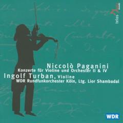 Paganini, N. - Violinkonzerte 2 & 4