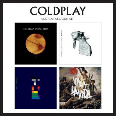 Coldplay - 4 Cd Catalogue Set