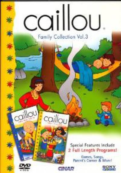 Animation - Caillou   Family.. 3