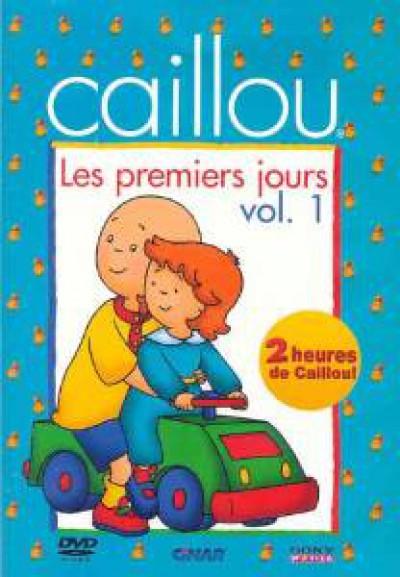 Animation - Caillou   Premiers..1
