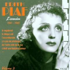 Piaf, Edith - L'ascension Vol.3