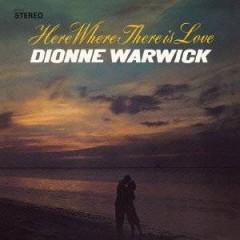 Warwick, Dionne - Here Where..  Jap Card