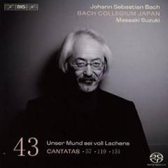 Bach, J.S. - Cantatas Vol.43