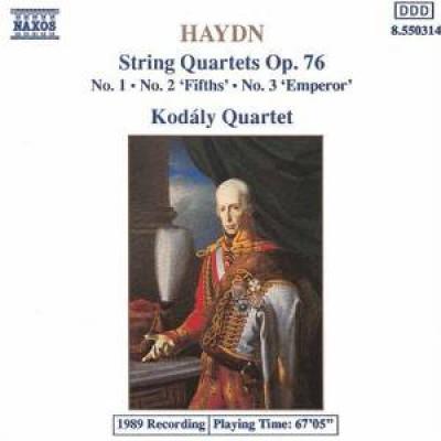 Haydn, J. - String Quartets Op.76 Nos